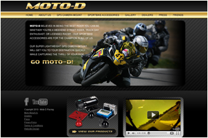 Moto D Racing GPS Camera Mount For Sportbike