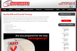 NW CPR TRaining