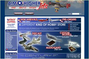 Aim Higher Jets Logo