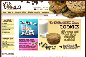 Ali's Cookies Ship A Cookie