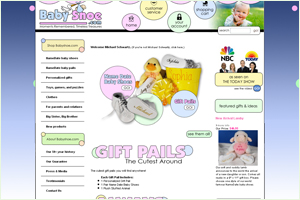 Baby Shoe NameDate Baby Gifts