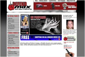 DefendMax Personal Security and Defense Products