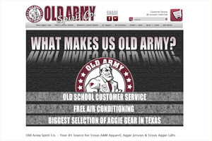 Old Army SPirit CO. Aggie Gear