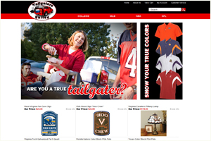 Tailgaters Party College Spirit Accessories