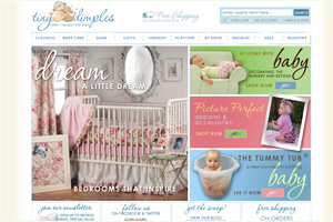 Tiny Dimples Baby Accessories, Bedding, Toys