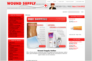 Wound Care Supply Online